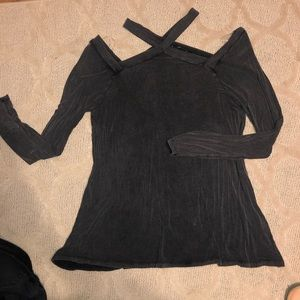 Never worn - cut out long sleeve top, 1X